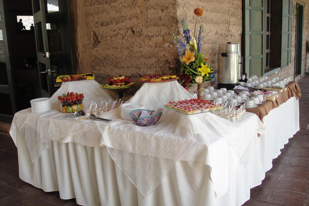 Sierra Verde eventos, servicios, estación de café